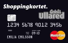 Gekås Ullared Shoppingkortet